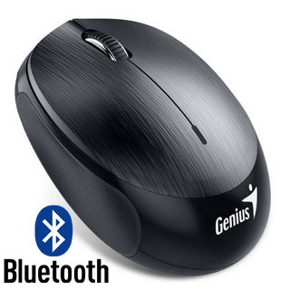 GENIUS - NX-9000BT 1200dpi gunmetal Grey